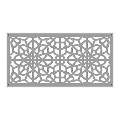 Xpanse Decorative Screen Panel, 2 ft. x 4 ft., Fretwork Clay, 73004787