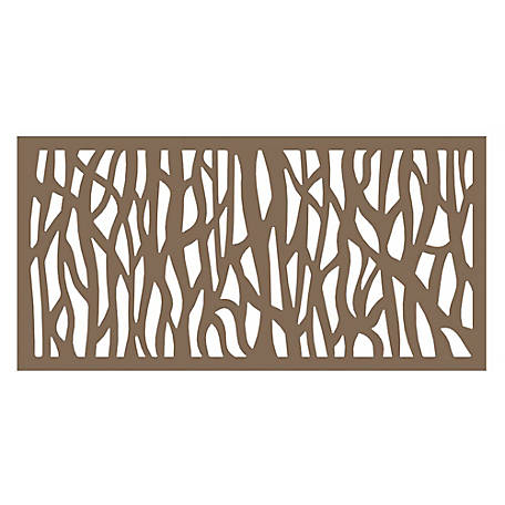 Xpanse Decorative Screen Panel, 2 ft. x 4 ft., Sprig Saddle