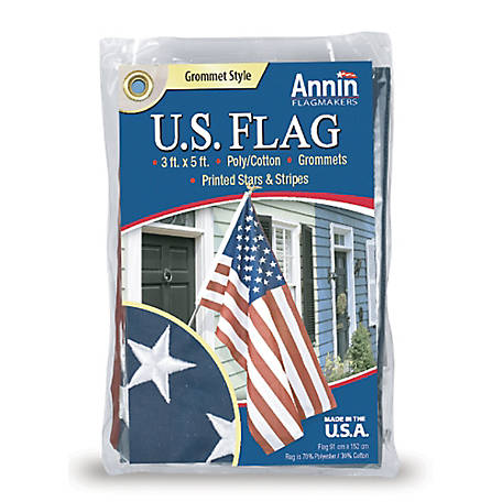 Annin 3x5 Polycotton US Flag