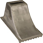 Buyers Products Aluminum Wheel Chock 8.5 in. x 15 in. x 8.25 in.