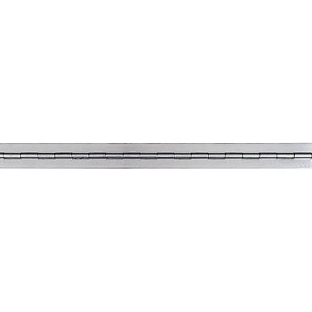 Buyers Products Aluminum Continuous Hinge .120 x 72 in. Long with 3/8 Pin and 3.0 Open Width