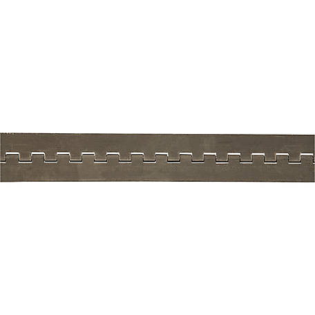 Buyers Products Aluminum Continuous Hinge .120 x 72 in. Long with 3/8 Pin and 4.0 Open Width