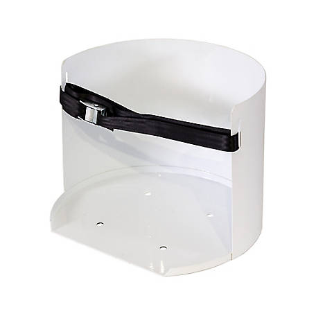 Buyers Products White Steel 5-Gallon Water Cooler Mount