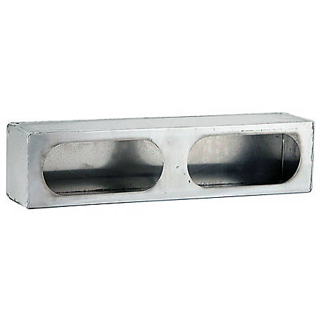 Buyers Products Dual Oval Light Box Stainless Steel