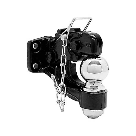 Buyers Products 8-Ton Combination Hitch, 50 Millimeter Ball