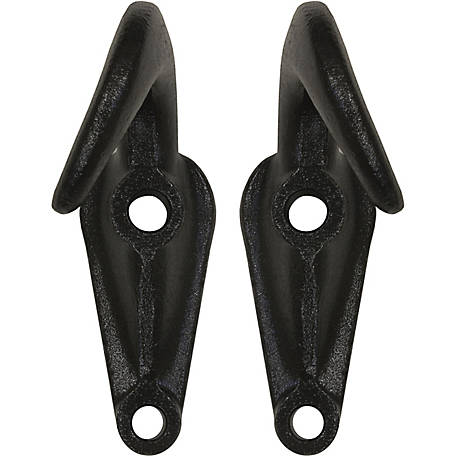 Buyers Products Black Powder-Coated Drop Forged Towing Hook Pairs