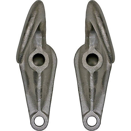 Buyers Products Chrome Plated Drop-Forged Towing Hook Pairs