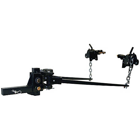 Buyers Products Weight Distributing Hitch, Trunnion Bar-Black Powder-Coated