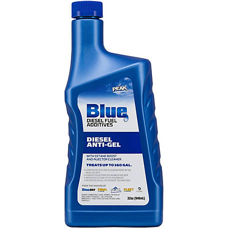 PEAK Blue Anti-Gel with Cetane Boost Cleaner, 32 oz., BDDAG32