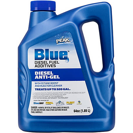 PEAK Blue Anti-Gel with Cetane Boost, 64 oz., BDDAG64