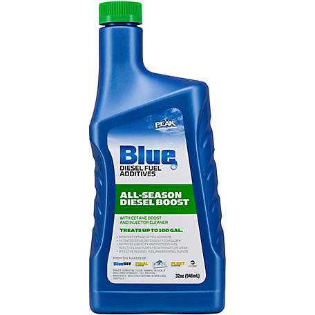 PEAK Blue All-Season Diesel with Cetan Boost, 32 oz., BDASDB32