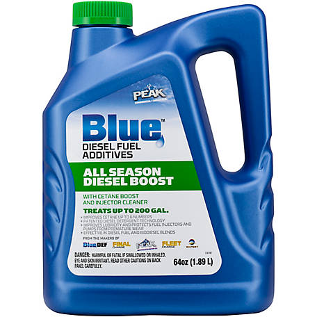 PEAK Blue All-Season Diesel with Cetan Boost, 64 oz., BDASDB64