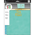 Me & My Big Ideas Create 365 Big Snap In Hard Cover Planner, Turquoise