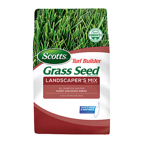 Scotts Turf Builder Grass Seed Landscapers Mix (North), 20 lb., 18233