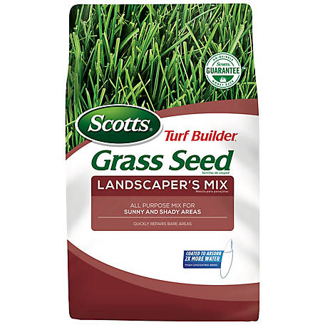 Scotts Turf Builder Grass Seed Landscapers Mix North, 7 lb., 18230