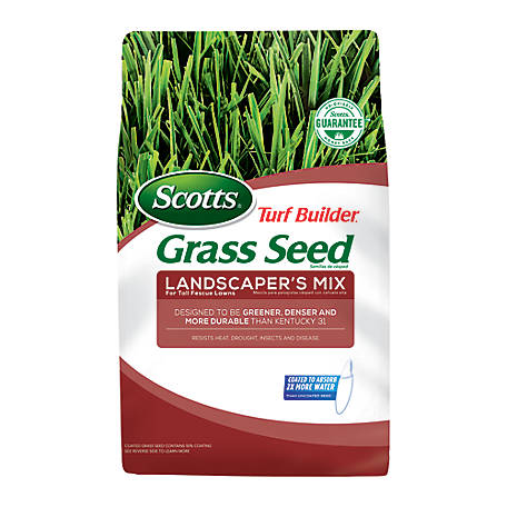 Scotts Turf Builder Grass Seed Landscapers Mix for Tall Fescue Lawns, 20 lb., 18344