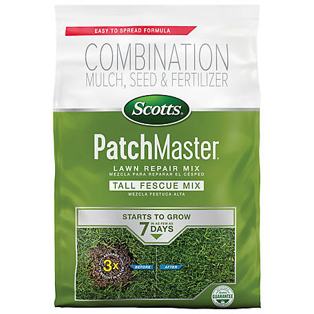 Scotts Patchmaster Lawn Repair Mix Tall Fescue Mix 10 Lb 14901 At