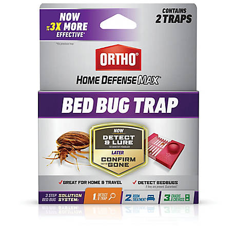 Ortho Home Defense Max Bed Bug Trap, 2-Pack, 0465705