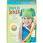 Leisure Arts Learn To Knit Kit, Hat