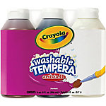 Crayola Washable Tempera Paint, Neutral, 8 oz.