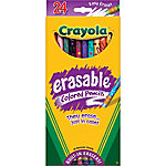 Crayola Erasable Colored Pencils, Pack of 24