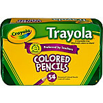 Crayola Trayola Colored Pencils Set, Pack of 54