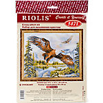 Riolis Counted Cross Stitch Kit, Free Fall, 14 Count