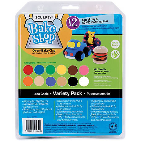 Sculpey Bake Shop Oven Bake Clay Set At Tractor Supply Co