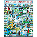 White Mountain Puzzle By The Sea, American Lighthouses