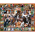 White Mountain Lovable Pets Puzzle, The World Of Dogs