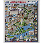 White Mountain 1,000-Piece Jigsaw Puzzle, Washington DC