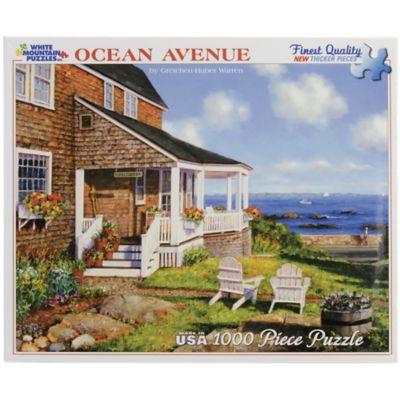 White Mountain 1;000-Piece Jigsaw Puzzle; Ocean Avenue