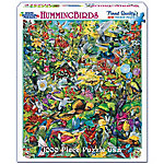 White Mountain 1,000-Piece Jigsaw Puzzle, Hummingbirds