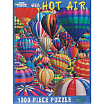 White Mountain 1,000-Piece Jigsaw Puzzle, Hot Air Balloons