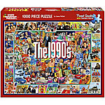 White Mountain 1,000-Piece Jigsaw Puzzle, The Nineties