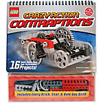Klutz LEGO Crazy Action Contraptions Book Kit