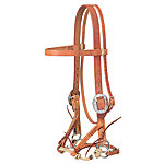 Weaver Leather Justin Dunn Draft Bitless Bridle, Russet