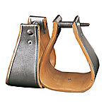 Weaver Leather Military Wooden Stirrups, Bound