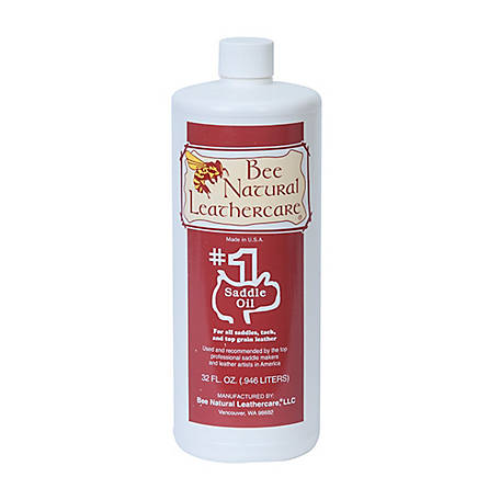 Bee Natural Leathercare #1 Saddle Oil qt., 50-4363