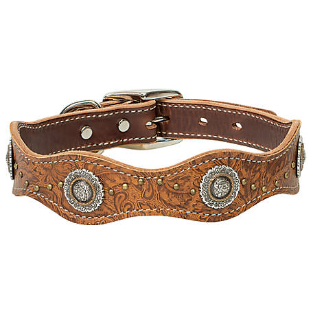 Weaver Leather Western Edge Dog Collar