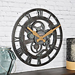 FirsTime Oxidized Gears Wall Clock, 25688