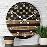 FirsTime Old Glory Wall Clock, 99675