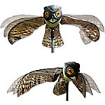Bird-X Flying Owl Decoy with Moving Wings
