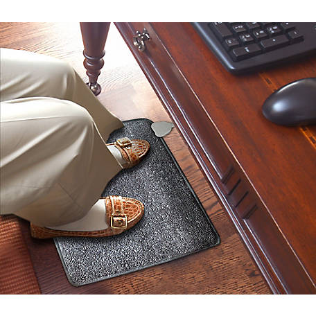 Cozy Carpeted Foot Warmer Mat