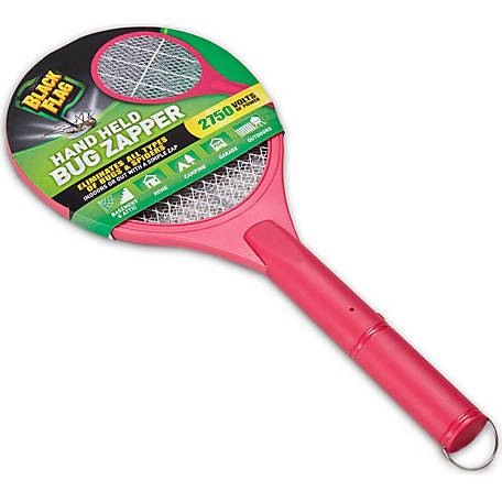Black Flag Pink Handheld Bug Zapper