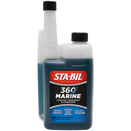 Sta-Bil 360 Marine Fuel Treatment with Vapor Technology, 32 fl. oz., 22240