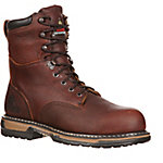 Rocky Men's 8 in. Brown IronClad Waterproof Thinsulate Lace-Up Boot