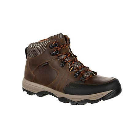 Rocky Men's 5 in. Brown Endeavor Point Waterproof Hiker