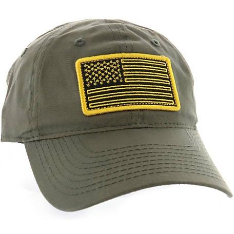 Outdoor Cap Men s Olive Felt Patch Flag Cap at Tractor Supply Co. 120f4809b94