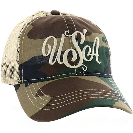 Outdoor Cap Women's USA Generic Camo Cap